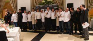 8 Chefs contentos