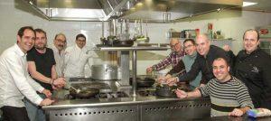 8 Chefs fogones